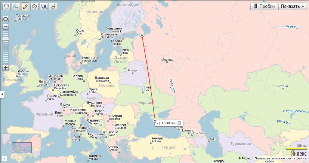 Москва-симферополь сколько часов лететь