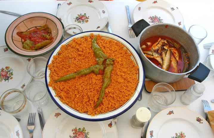 Еда Туниса