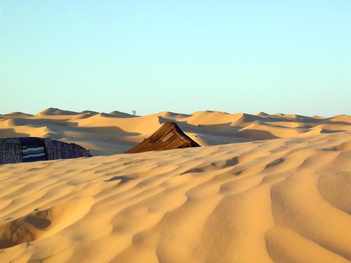Тунисская пустыня