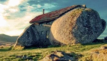 Дом-камень фото