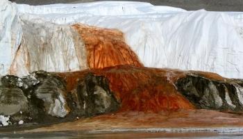 Кровавый водопад фото