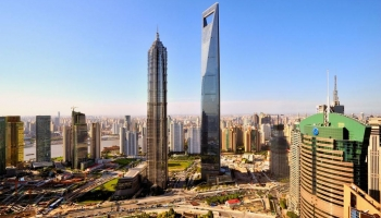 Шанхайский всемирный финансовый центр фото