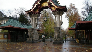 Берлинский зоопарк фото