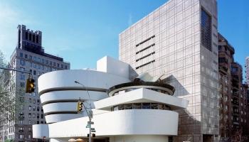 Музей Гуггенхайма в Нью-Йорке фото