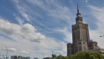 Дворец Культуры и Науки в Варшаве фото