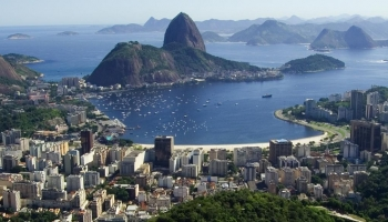 Залив в Рио-де-Жанейро
