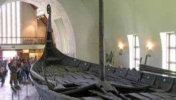 Музей кораблей викингов фото