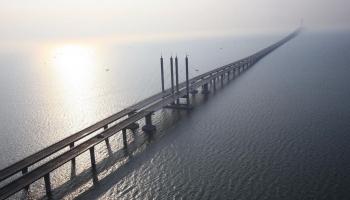 Циндаоский мост фото