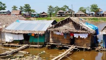Дома на сваях в Амазонии
