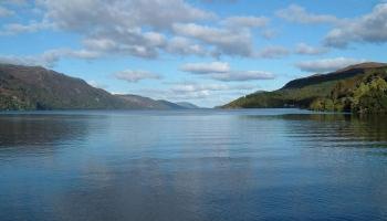 Озеро Лох-Несс фото