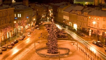 Литва на Новый год