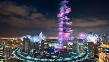 ОАЭ на Новый год