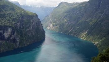 Фьорды Норвегии фото