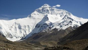 Гора Джомолунгма фото