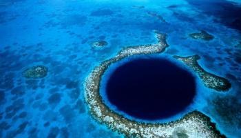 Большая голубая дыра фото